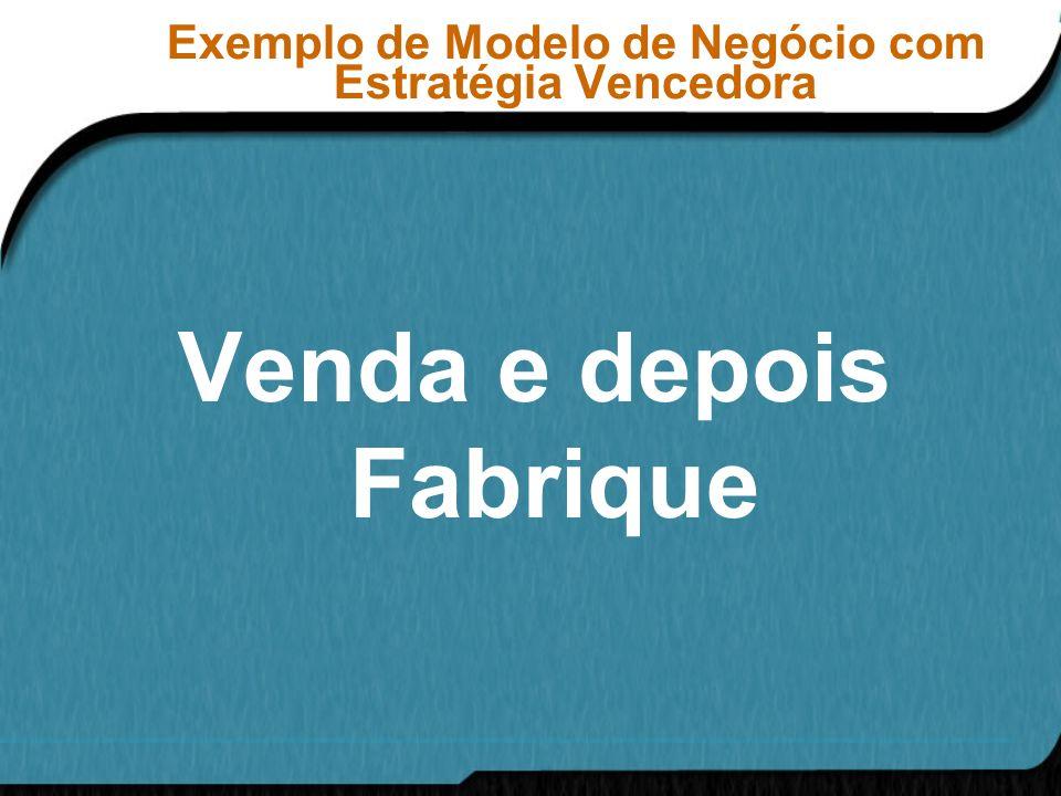 Exemplo de Modelo de Negócio com Estratégia Vencedora
