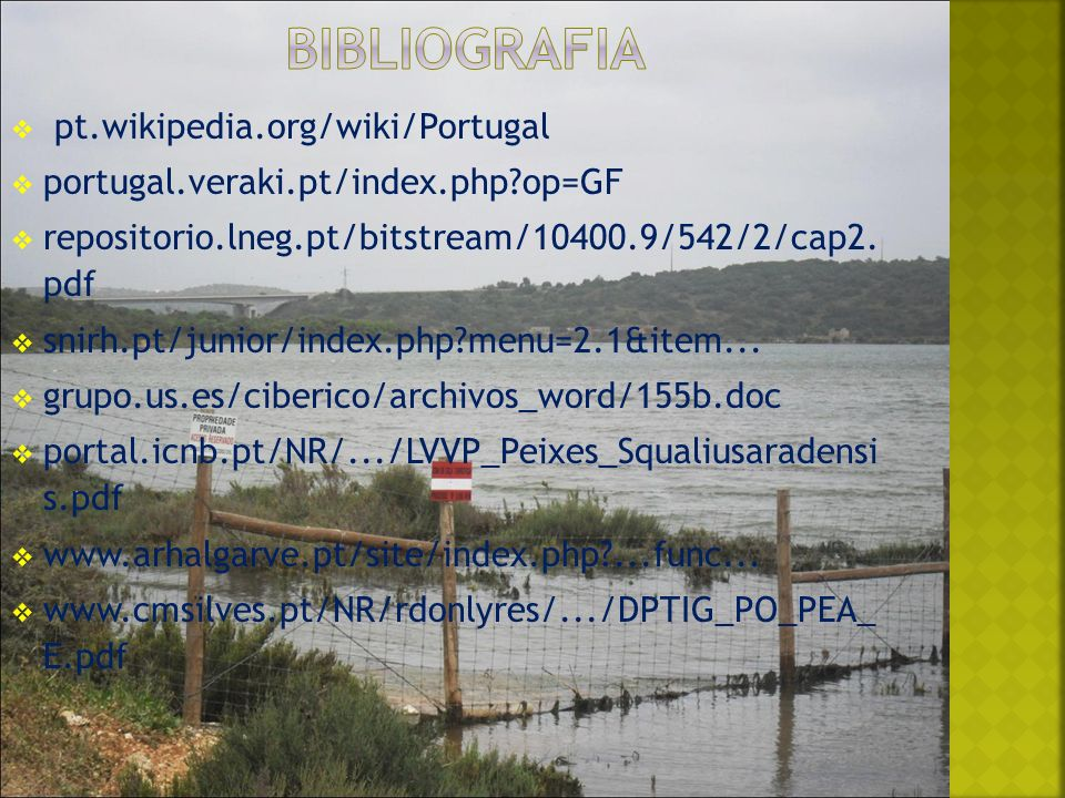 Bibliografia pt.wikipedia.org/wiki/Portugal
