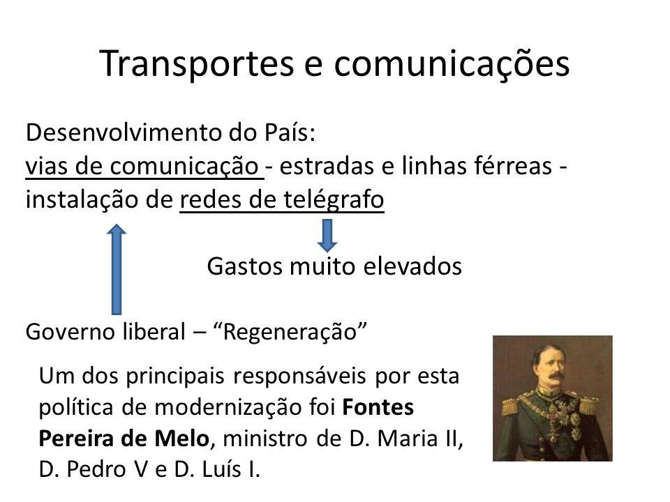 Transportes e comunicações