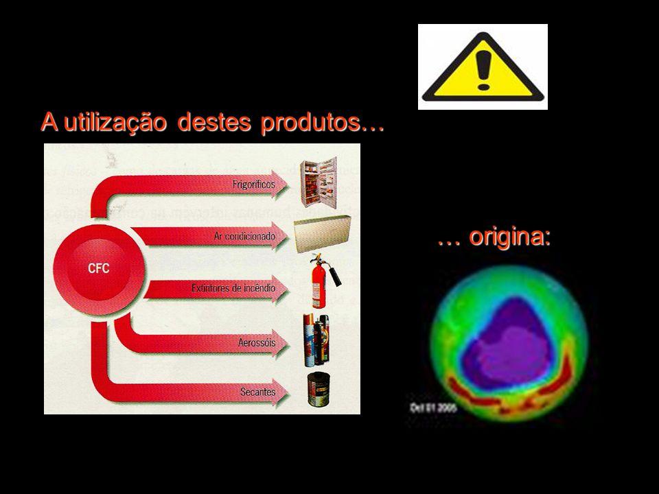 A utilização destes produtos…