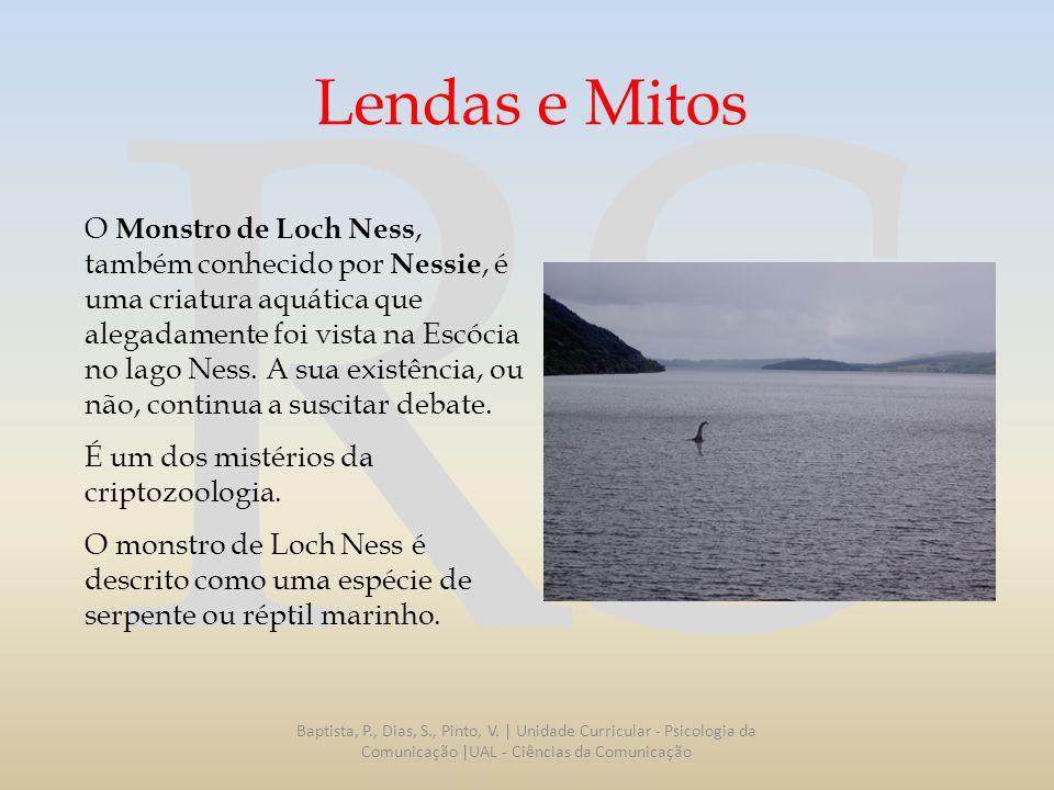 Lendas e Mitos