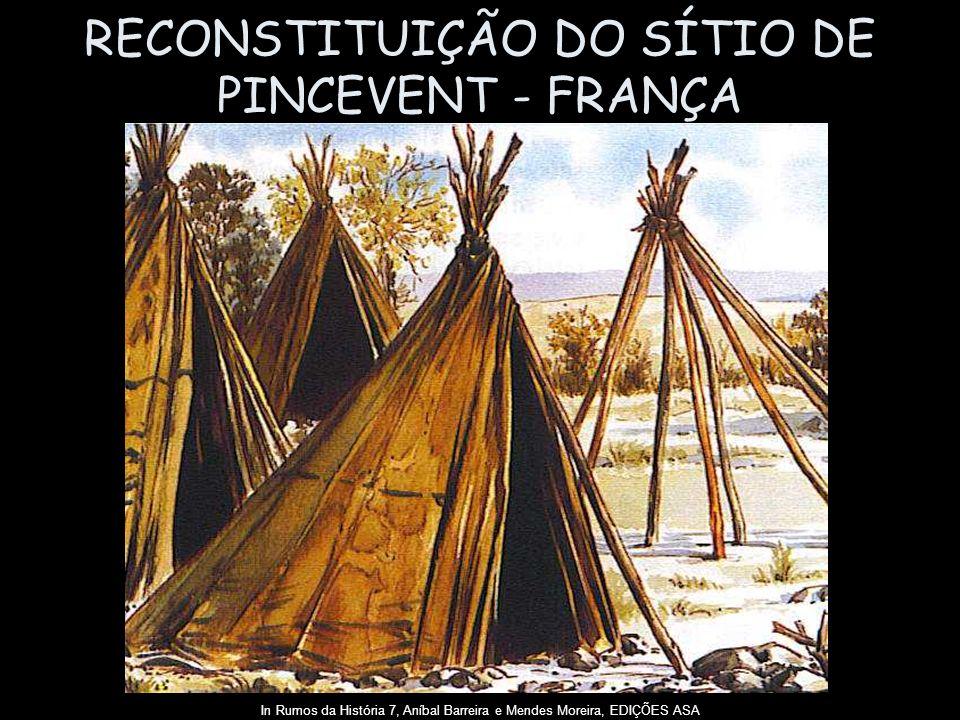 RECONSTITUIÇÃO DO SÍTIO DE PINCEVENT - FRANÇA