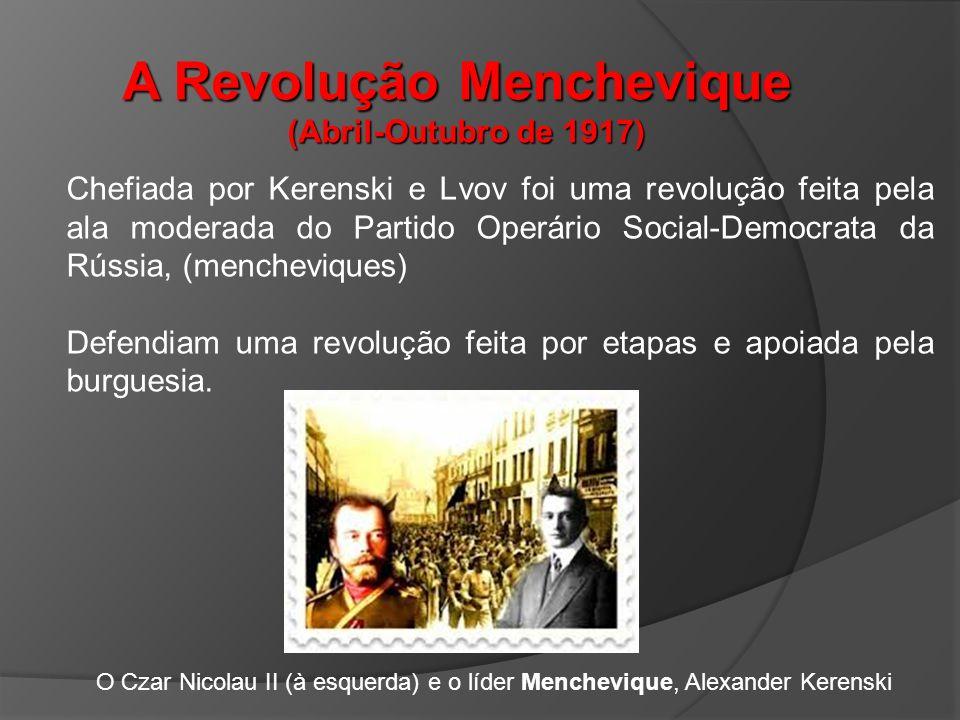 A Revolução Menchevique