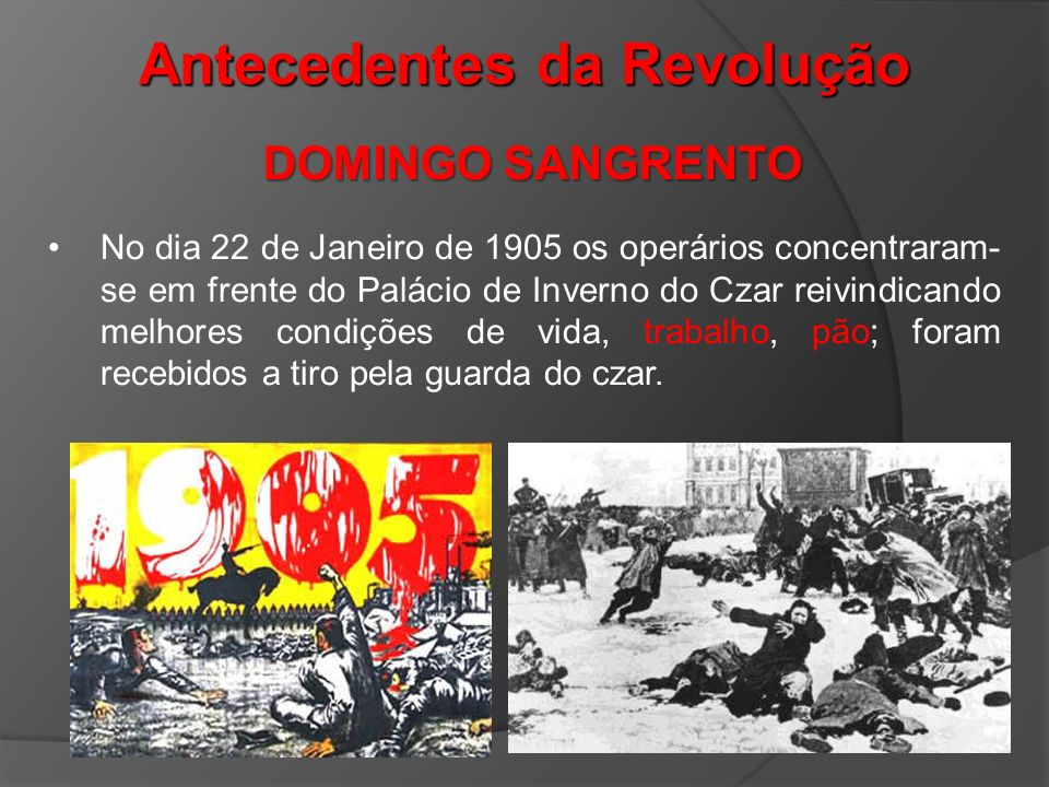 Antecedentes da Revolução