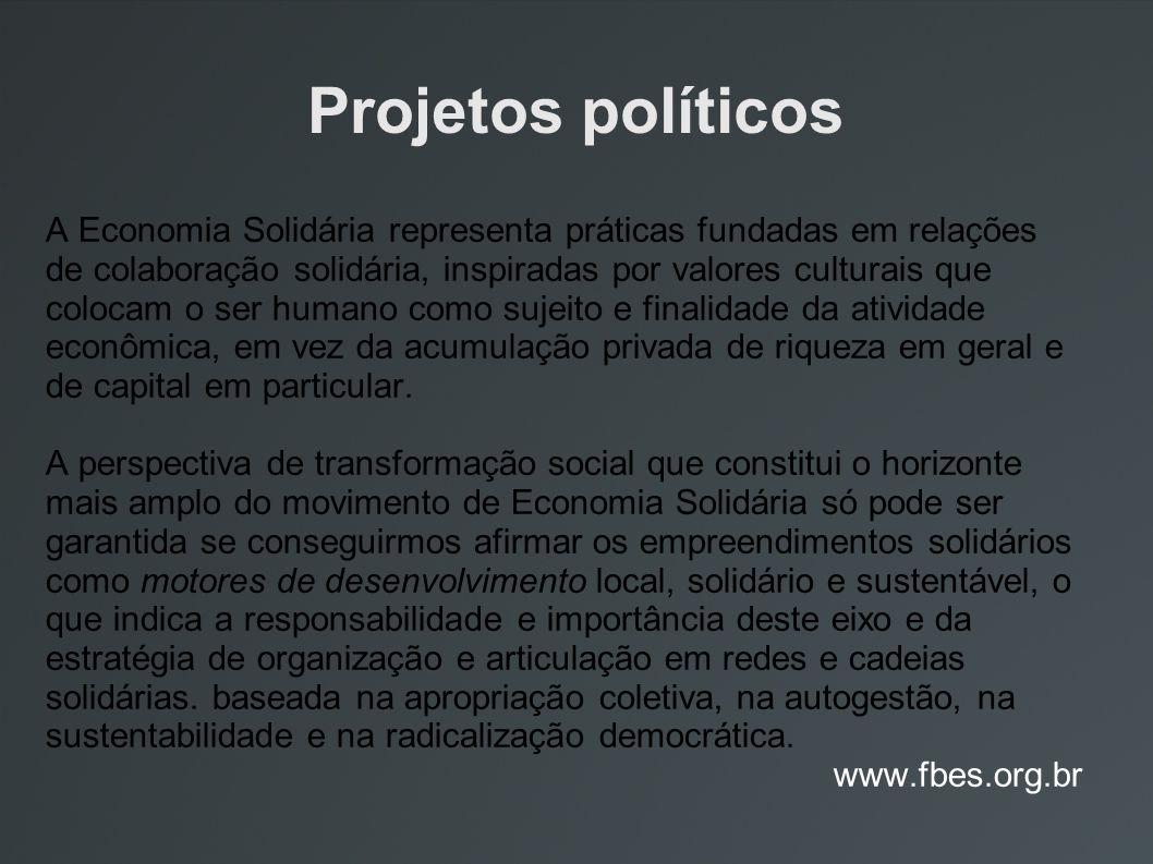 Projetos políticos