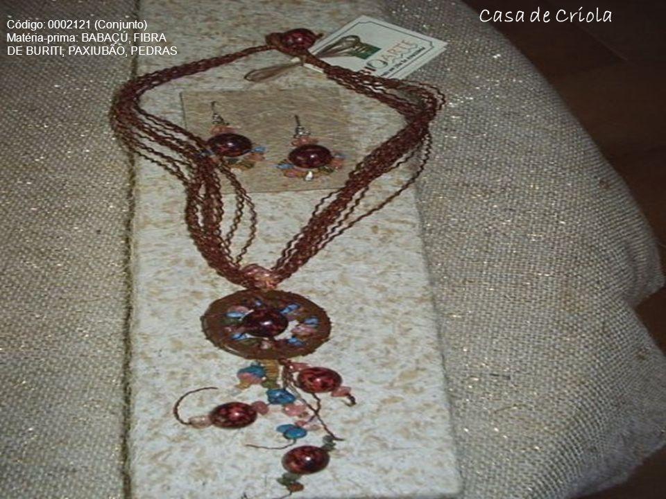 Casa de Criola Código: 0002121 (Conjunto)