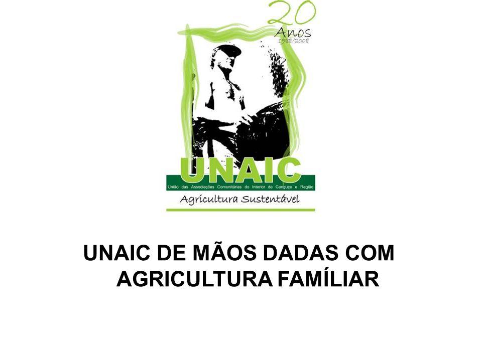 UNAIC DE MÃOS DADAS COM AGRICULTURA FAMÍLIAR
