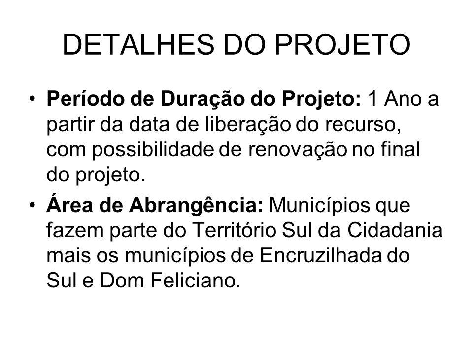 DETALHES DO PROJETO
