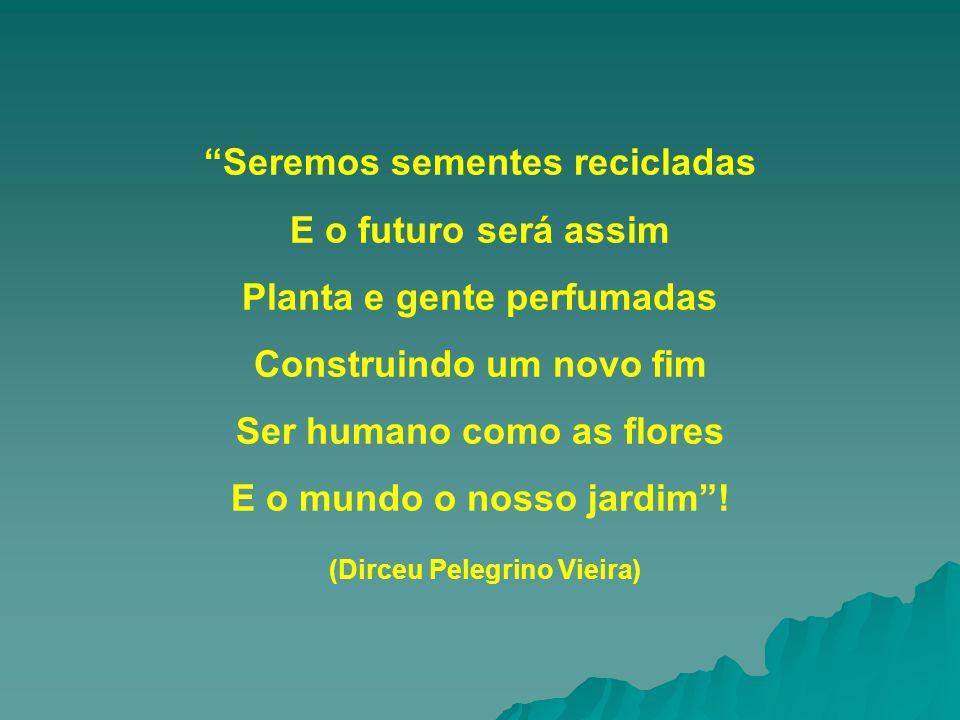 Seremos sementes recicladas E o futuro será assim