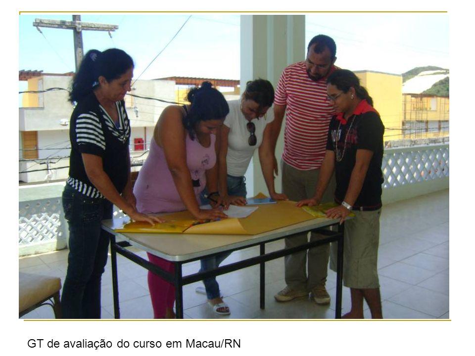 GT de avaliação do curso em Macau/RN