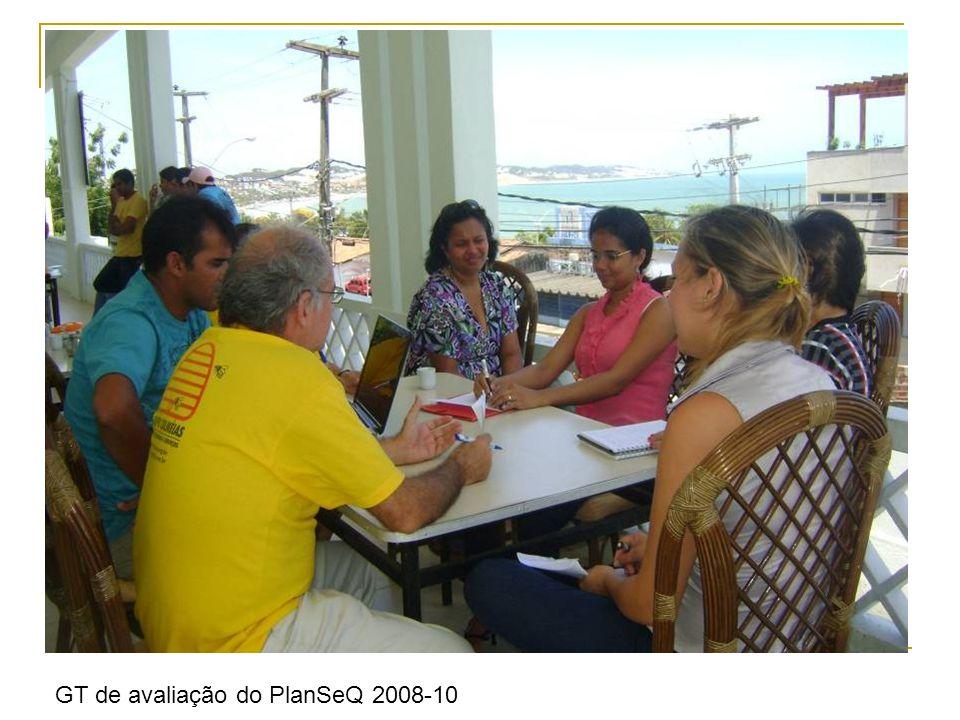 GT de avaliação do PlanSeQ 2008-10