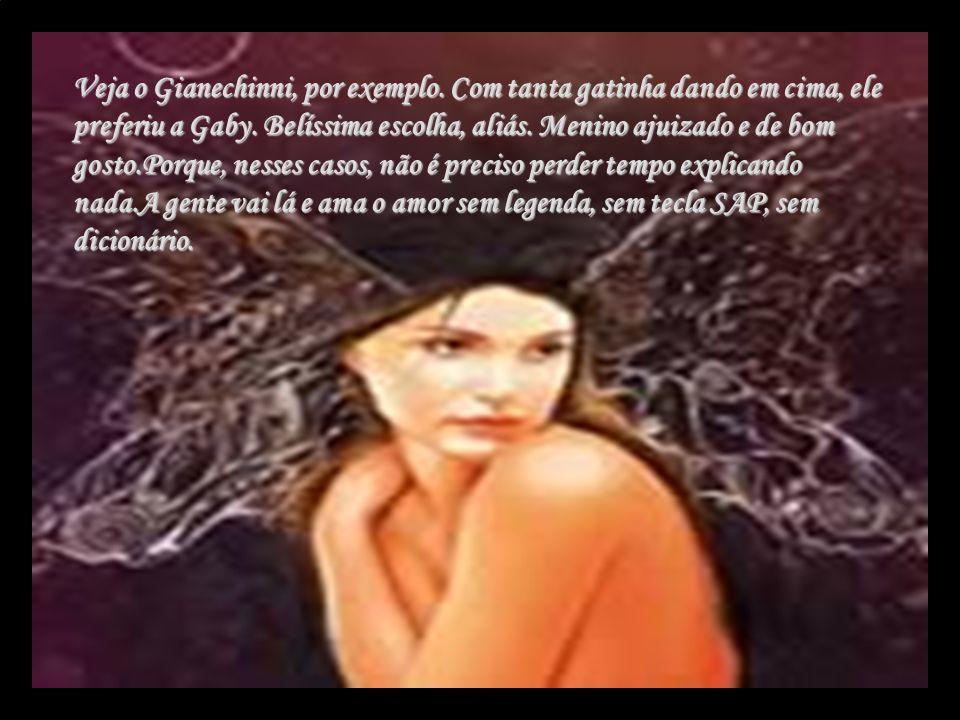 Veja o Gianechinni, por exemplo