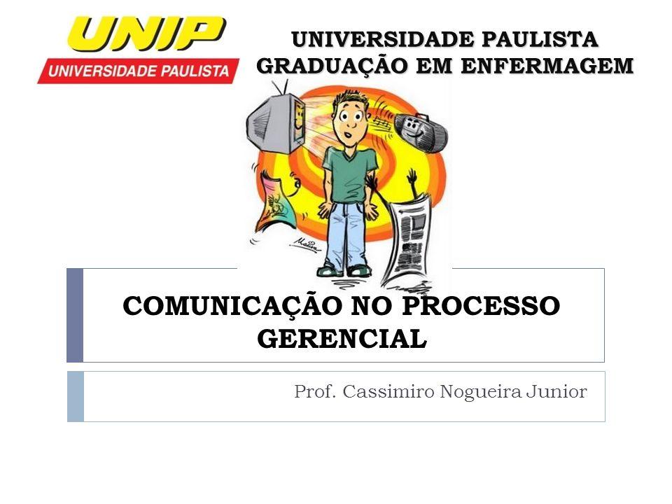 COMUNICAÇÃO NO PROCESSO GERENCIAL
