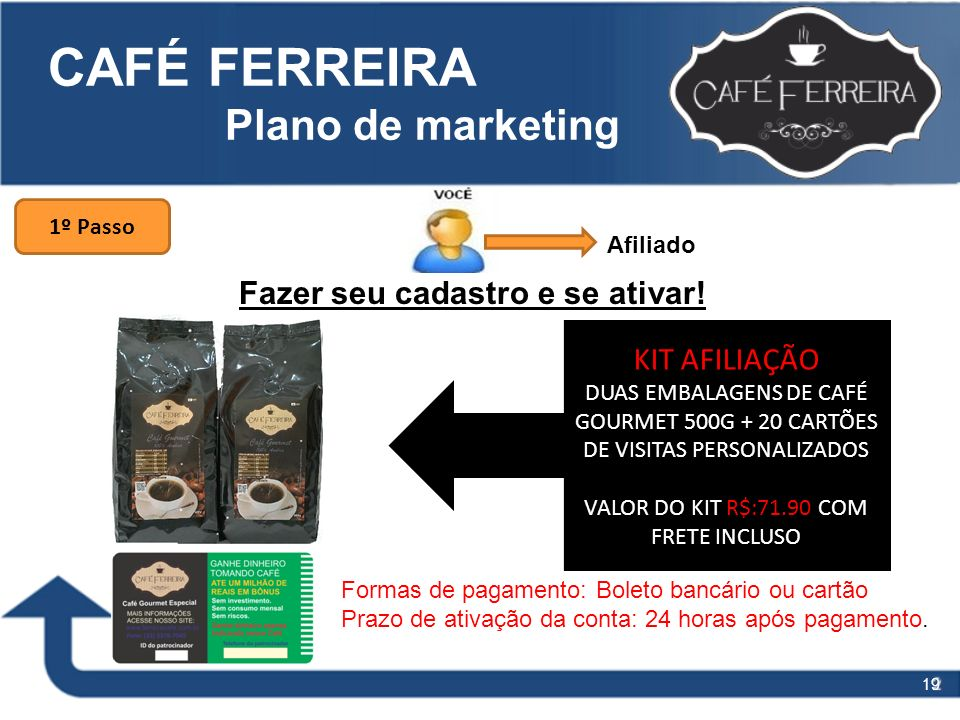 CAFÉ FERREIRA Plano de marketing