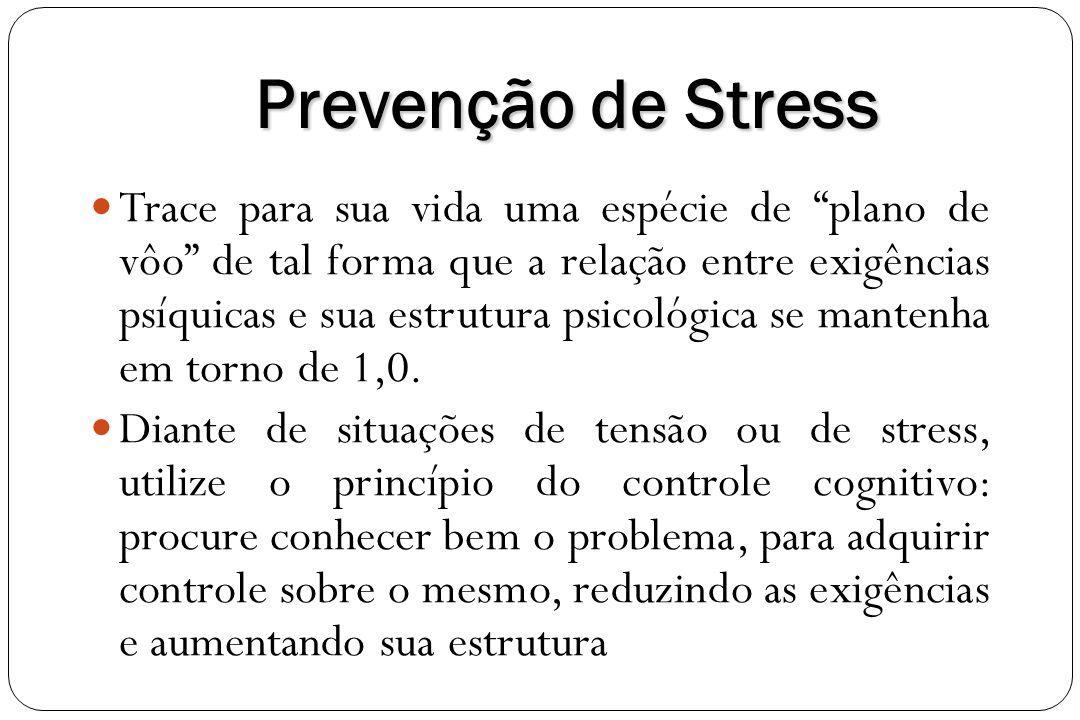 Prevenção de Stress