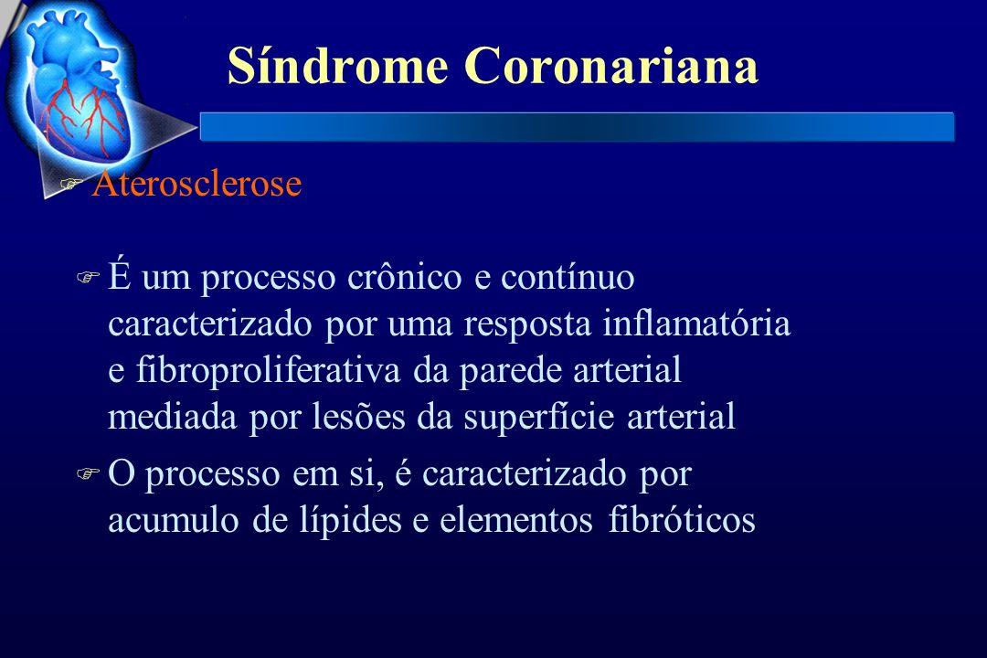 Síndrome Coronariana Aterosclerose