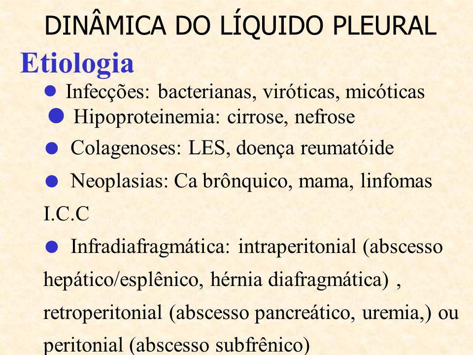● Infecções: bacterianas, viróticas, micóticas