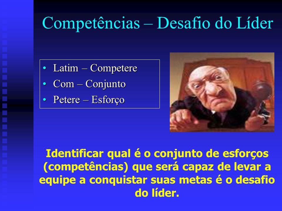 Competências – Desafio do Líder