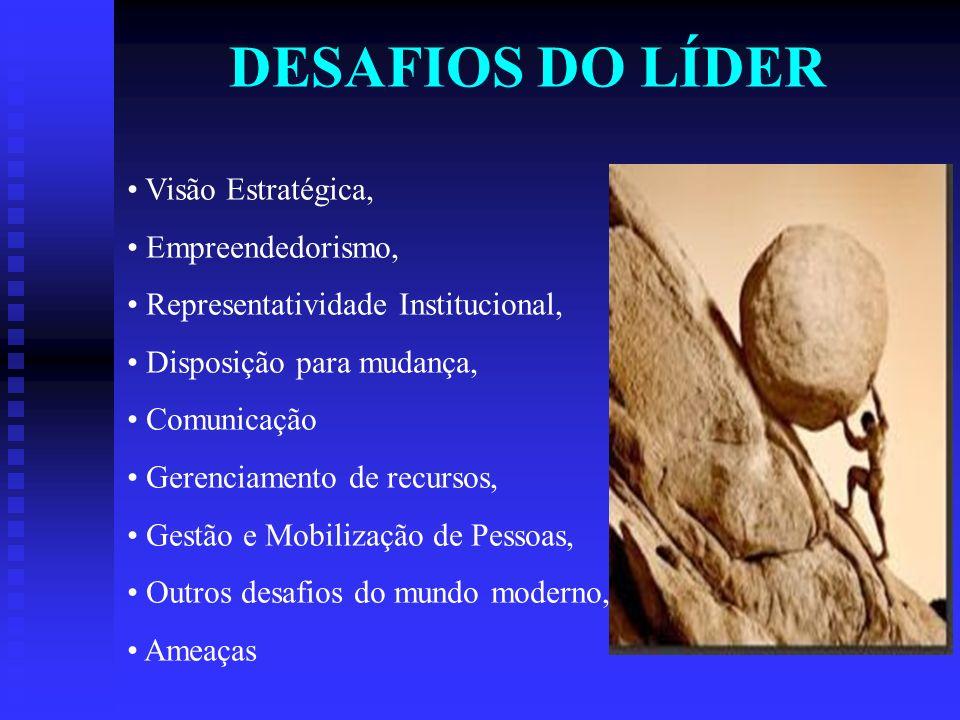DESAFIOS DO LÍDER Visão Estratégica, Empreendedorismo,