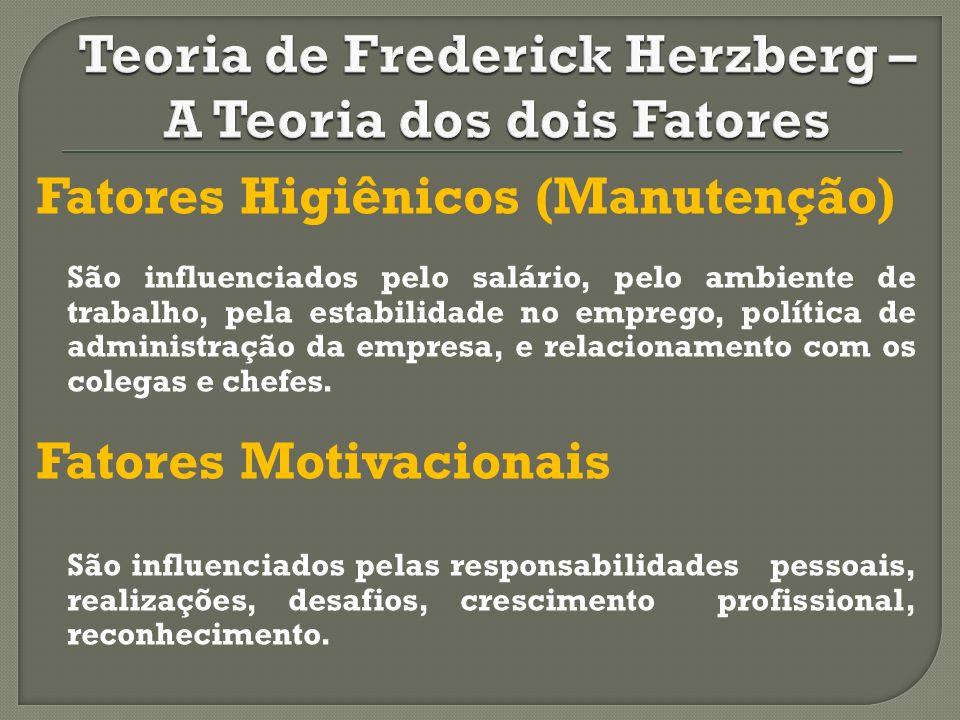 Teoria de Frederick Herzberg – A Teoria dos dois Fatores