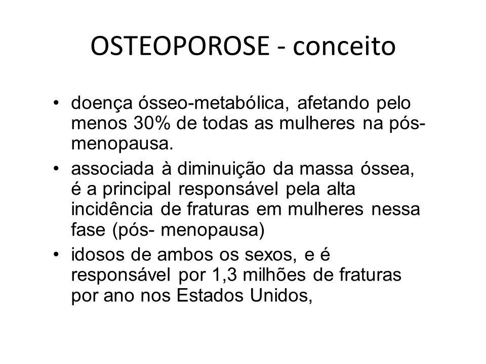 OSTEOPOROSE - conceito