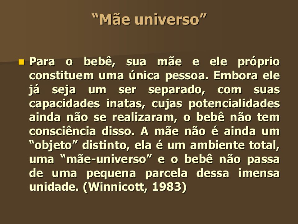 Mãe universo