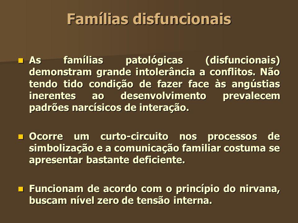 Famílias disfuncionais