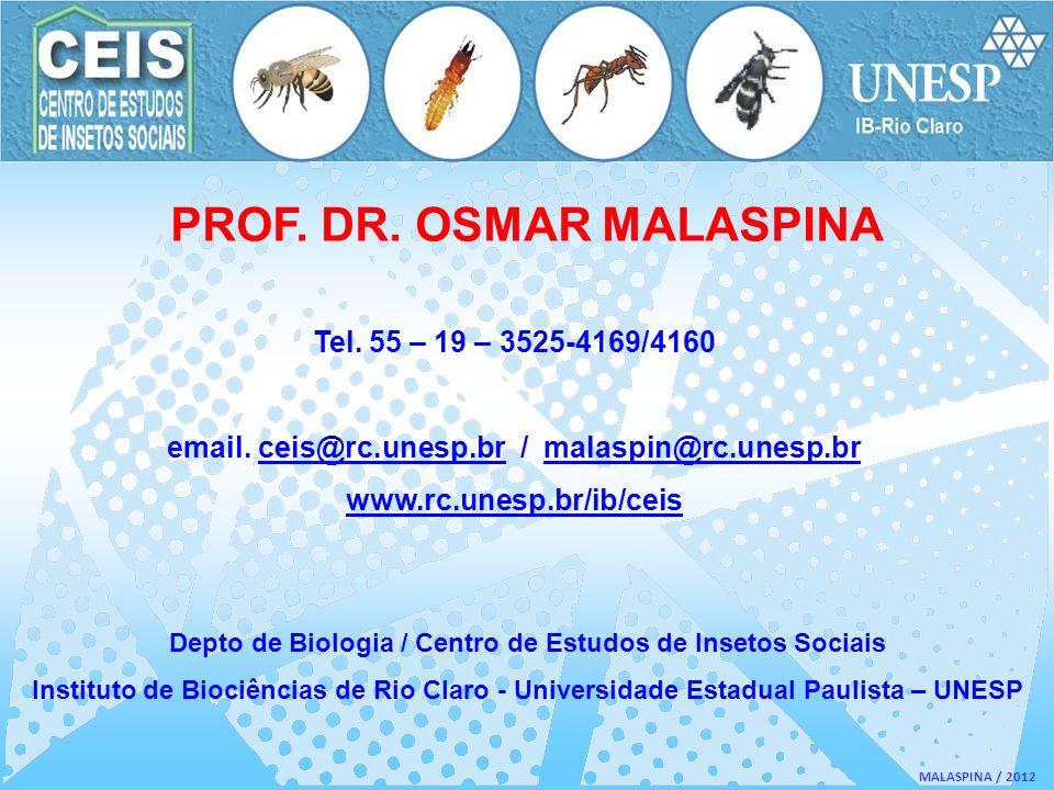 PROF. DR. OSMAR MALASPINA