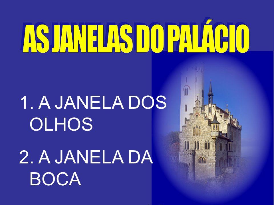 A JANELA DOS OLHOS A JANELA DA BOCA A JANELA DOS OUVIDOS