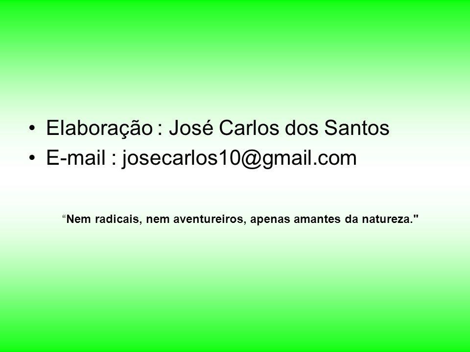 Elaboração : José Carlos dos Santos E-mail : josecarlos10@gmail.com