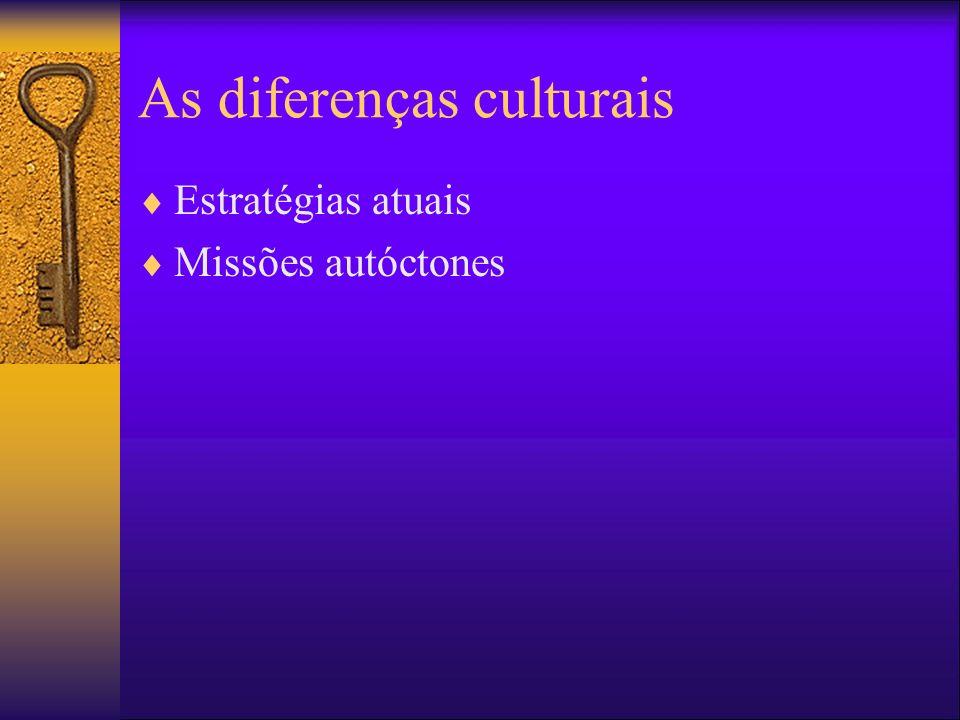 As diferenças culturais