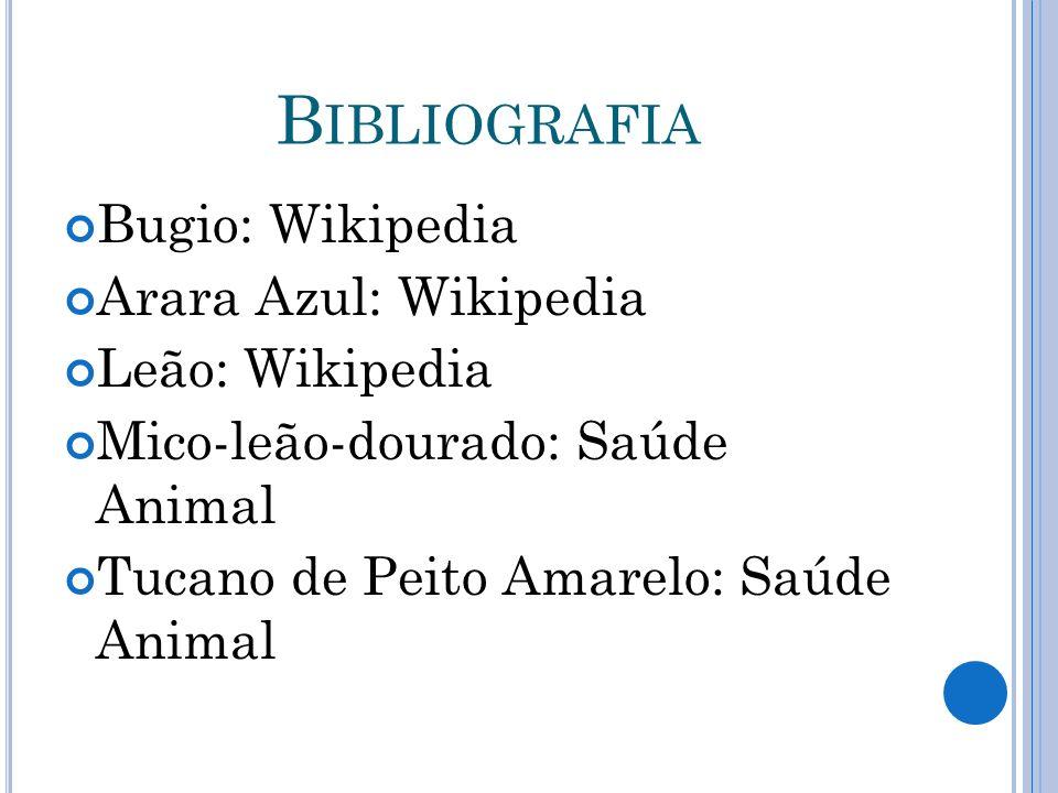 Mico-leão-dourado: Saúde Animal Tucano de Peito Amarelo: Saúde Animal