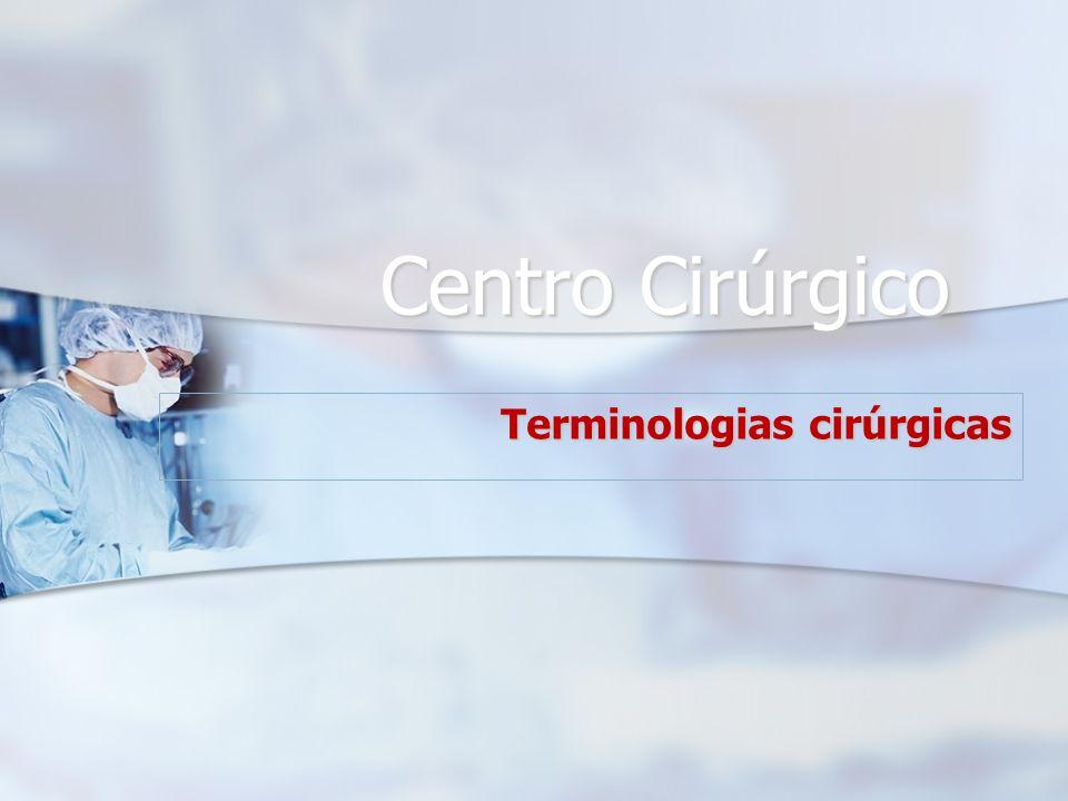 Terminologias cirúrgicas