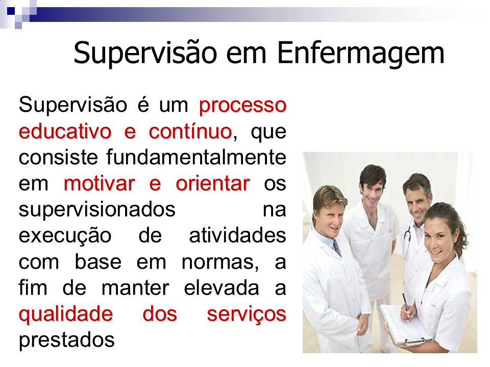 Supervisão em Enfermagem
