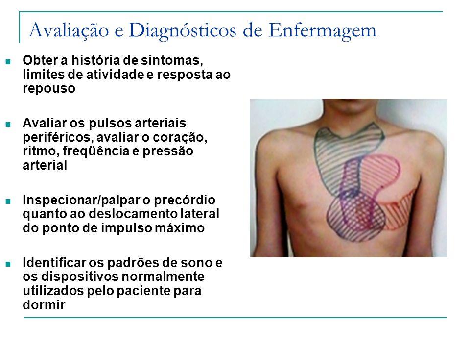 Avaliação e Diagnósticos de Enfermagem