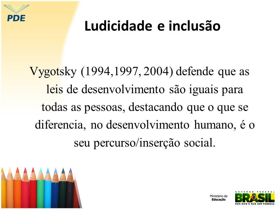 Ludicidade e inclusão