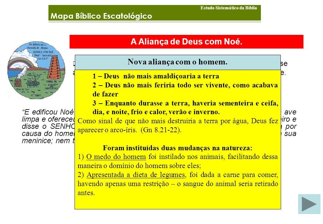 A Aliança de Deus com Noé.