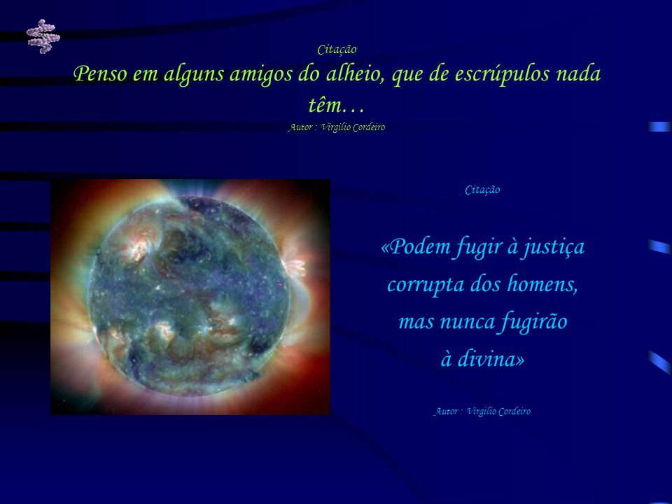 Autor : Virgilio Cordeiro