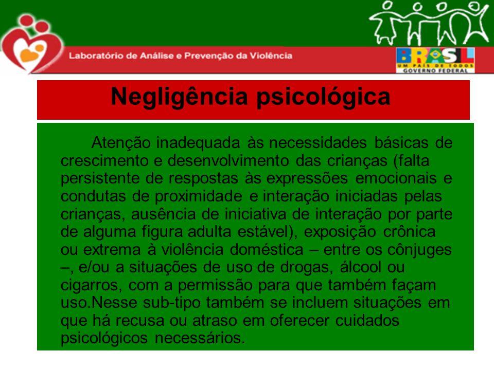 Negligência psicológica