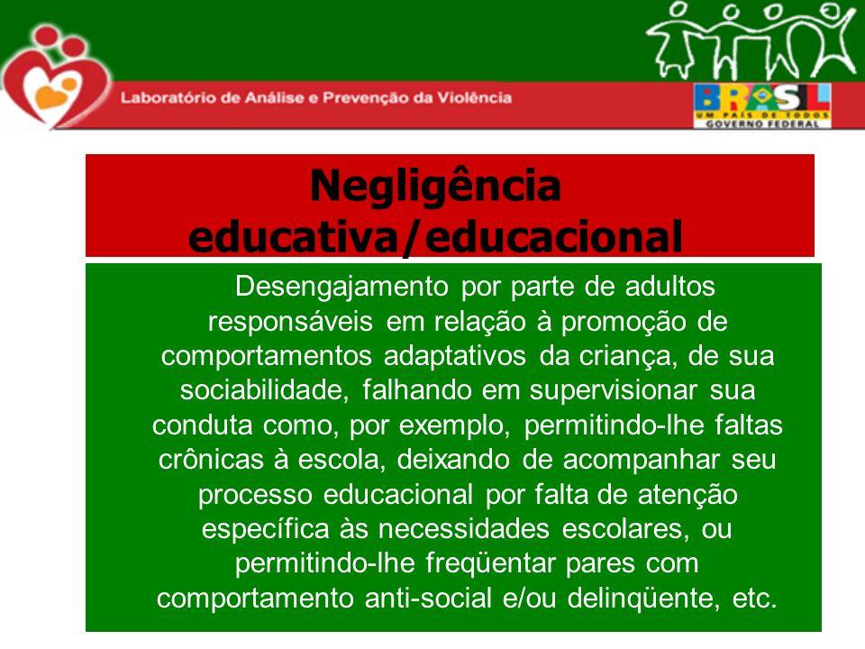 Negligência educativa/educacional