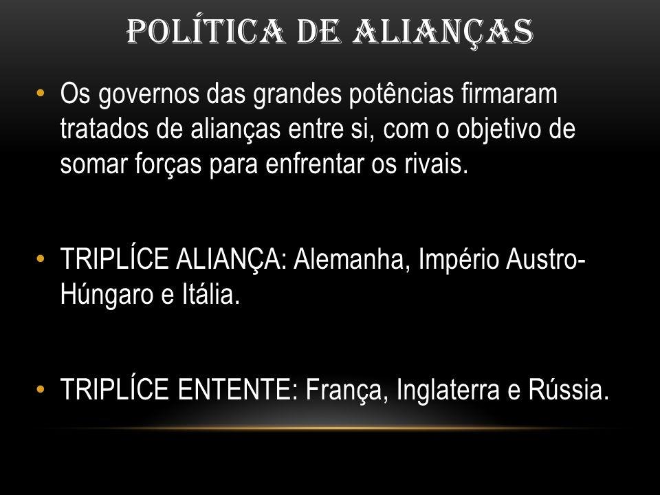 POLÍTICA DE ALIANÇAS