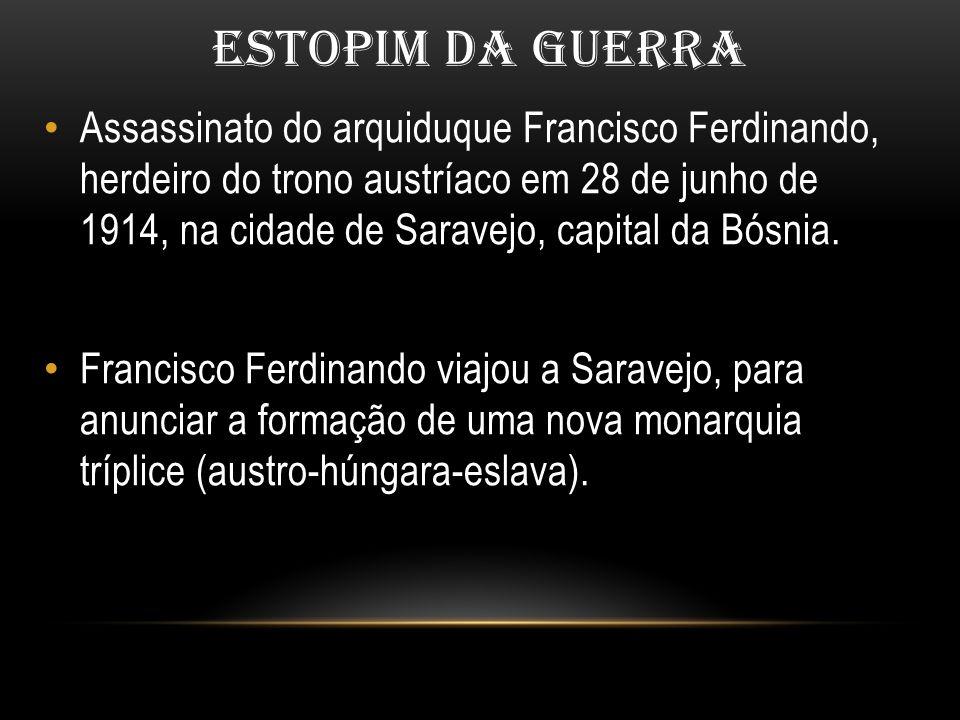 ESTOPIM DA GUERRA