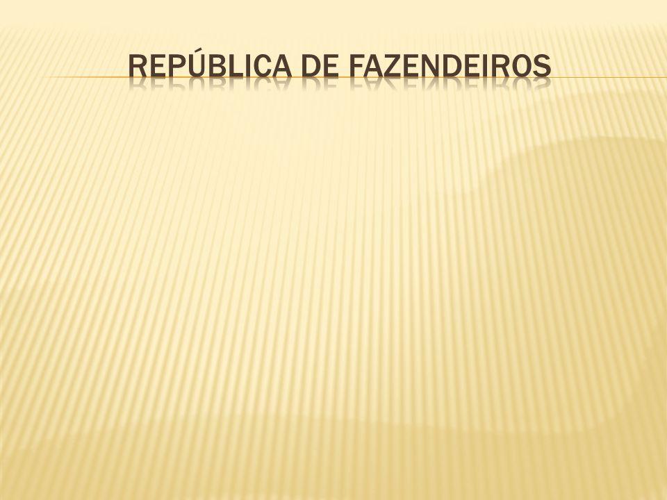 REPÚBLICA DE FAZENDEIROS