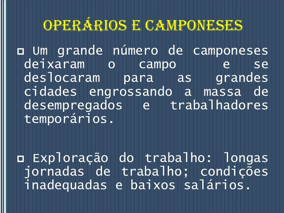 OPERÁRIOS E CAMPONESES
