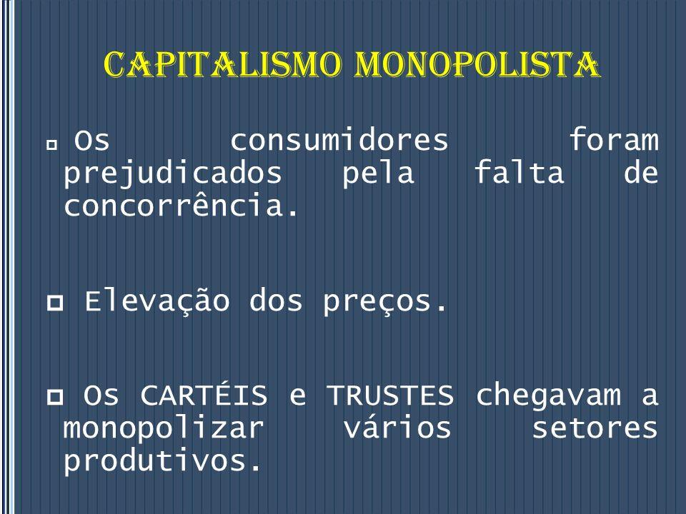 CAPITALISMO MONOPOLISTA