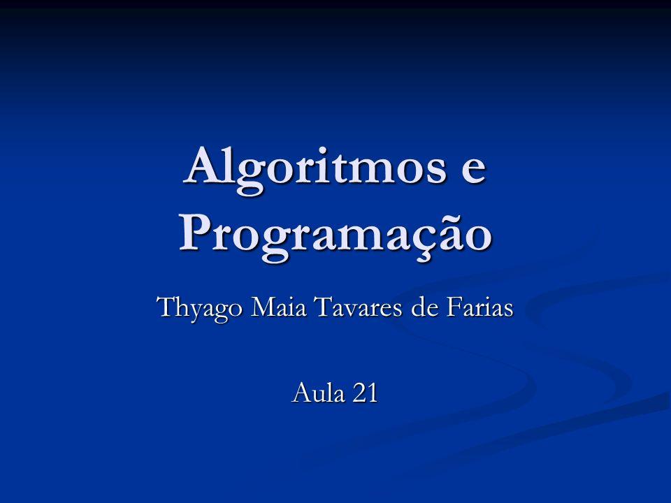 Algoritmos e Programação