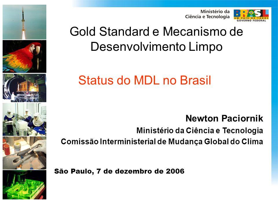 Gold Standard e Mecanismo de Desenvolvimento Limpo
