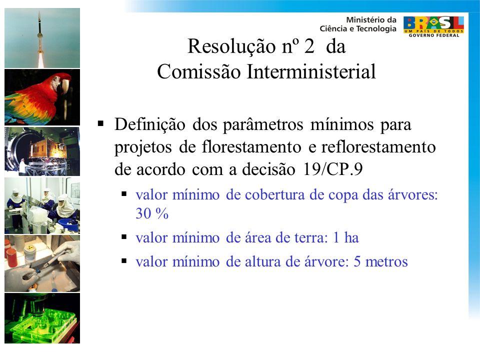 Resolução nº 2 da Comissão Interministerial