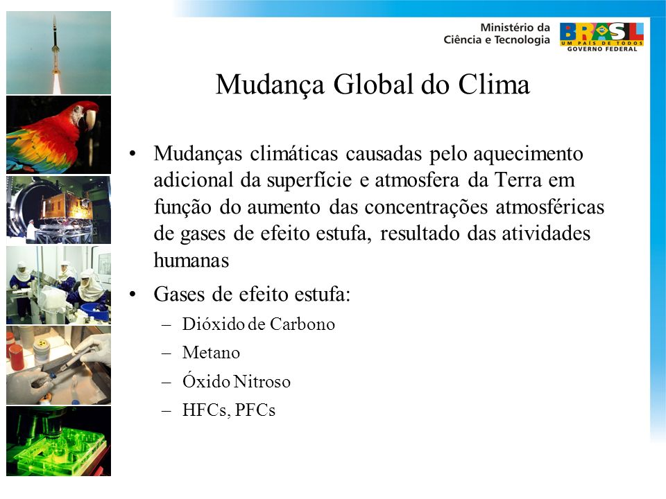 Mudança Global do Clima