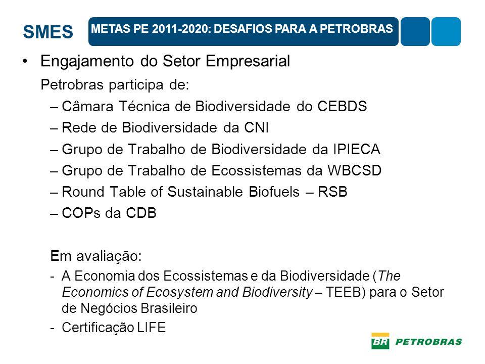 Engajamento do Setor Empresarial Petrobras participa de: